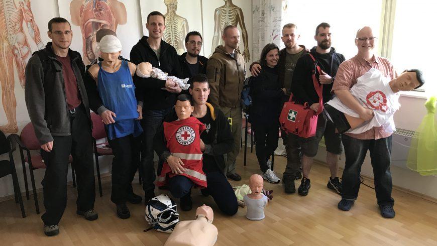 Kurz prvej pomoci I. 2017