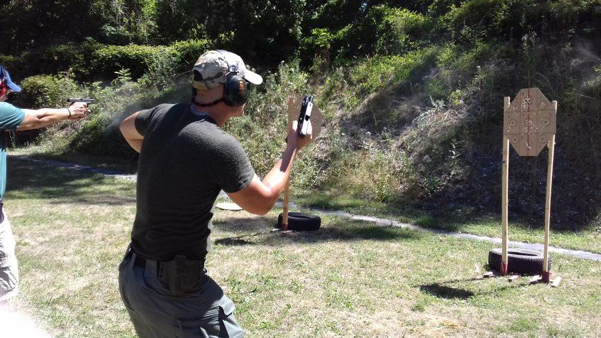 SPECTAR Combat shooting Pistol lvl.2 & Boj s nožom
